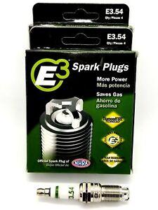 E3.54 Premium Automotive Spark Plugs - 8 Spark plugs