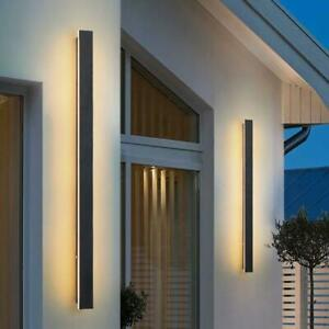 30cm Waterproof LED Wall Lights Up/Down Modern Sconce Outdoor/Indoor Lamp IP65