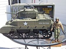 1/6 Scale Ultimate Soldier 21st Century M5 Light Tank w/Tank Figure & Box