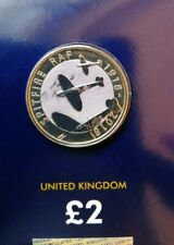 Royal Mint 2018 RAF Spitfire 100 Years £2 Two Pound Coin BU