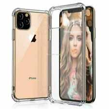 iPhone Case for 11 Pro Max TPU Cover Hard Slim Fit Thin Cover Clear Crystal