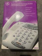 GE 29897GE1 Single Line Corded Phone Complete White NIB
