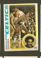 1978 Topps BASKETBALL Set DAVE BING Card