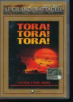 Tora! Tora! Tora! EDITORIALE LE GRANDI BATTAGLIE DVD D205004