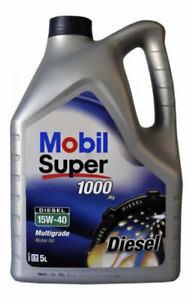 Mobil Super 1000 X1 Diesel 15W-40 Multigrade Mineral Engine Oil 5 Litre 5L