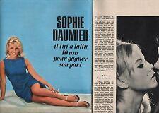 Coupure de presse Clipping 1965 Sophie Daumier   (4 pages)