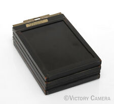 4 x Kodak / Graflex 5x7 View Camera Film Holders in Good Condition (91231-1)