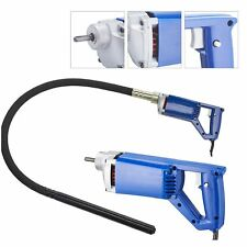 Electric Concrete Vibrator 3/4 Hp-13,000 Vibrations Per Min-Lightweight !.