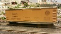 Roundhouse MDC HO Old Time 36' Fish Belly Boxcar, Rio Grande Upgraded, Exc.