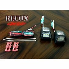 RECON 264904 07-13 Chevrolet & GMC Black License Plate LED