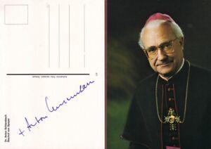 BISCHOF ANTON SCHLEMBACH --- original signiert - A3#11