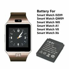 BATTERIA SMARTWATCH DZ09 A1 RICAMBIO SMART WATCH 3.7V 380mAh 4.2V BATTERIE