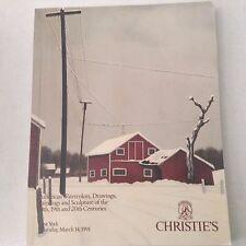 Christie's Art Catalog Carlotta Saint March 14, 1991 060917nonrh