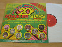 LP Various Die Super Hitparade 77 Schlager Stars Original Vinyl Teldec 6.23020