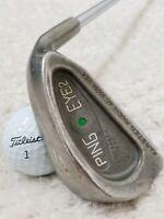 Vintage! PING EYE 2 *Green Dot* Single 4 IRON (OGS Steel Shaft Reg Flex) RH