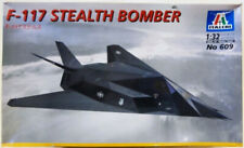 Italeri 609 Usaf F-117 Stealth Fighter/Bomber Aircraft model kit 1/32