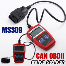 MS309 ODB2 II Fault Code Reader Car Diagnostic Scanner Tool MaxiScan UK