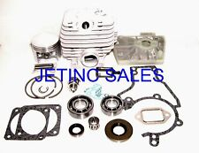 CYLINDER & PISTON KIT FOR STIHL MS381 NIKASIL W/ SEALS GASKETS BEARINGS