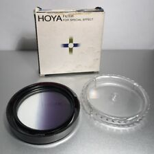 Genuine Hoya 55mm Gradual Color Blue Graduated Lens Filter