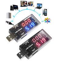 USB Charger Doctor Battery Voltmeter Ammeter Voltage Charging Detector ASS