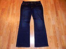 LUCKY BRAND SWEET'N LOW WIDE LEG BLUE JEANS WOMEN'S SIZE 12/31 - SUPER!