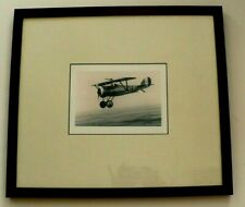 "Vintage Windsor Art Products airplane  Framed Picture 17"" x 15"" x 0.8"" W/Glass"