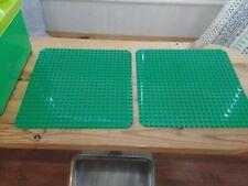 LEGO DUPLO base Board//Plaque Vert Large 24 x 24 Rivets