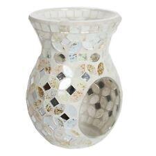 Aromatize Wax Melt Burner Cream and Gold Metallic Mosaic 14cm Tart Suitable