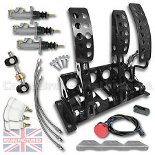 VW GOLF mk1-4 IDRAULICO FLOOR MOUNTED PEDALE BOX + KIT B cmb0711-hyd-kit + linee