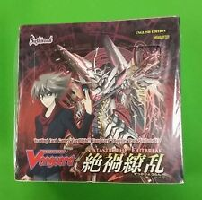 CARDFIGHT!! VANGUARD CATASTROPHIC OUTBREAK BOOSTER BOX SEALED VGE-BT13