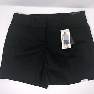 NWT Women's The Limited Tailored Shorts Color Black Size 4