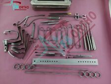 Tonsillectomy 27pcs and Adenoidectomy set Reusable Instruments Stainless steel
