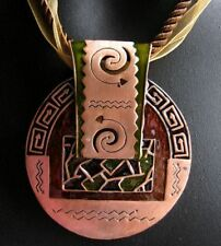 Unbranded Copper Enamel Fashion Necklaces & Pendants