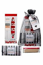 DinkiBelle Cherry Blossom Nail Wraps lasts 14 days UK quality - Gift Set
