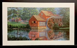 """Jim Harrison """"Fresh Grits"""" Limited Edition Signed Numbered Print"""