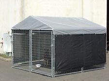 "30"" x 60"" Heavy Duty Dog Cat Cage House Kennel Cover Pet Outdoor Shelter Shade"