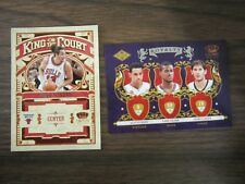 2009-10 Panini Crown Royale Royalty Rookie #5 & King of the Court 2 Card Lot B24