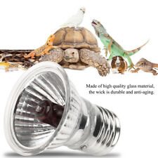 E27 Reptile Basking Light Heat Lamp Heater UVB/UVA Halogen Bulb 25/50/100W