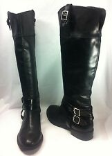 Inc International Concepts Fahnee Women Shoes Black Boot Sz 8.5 M