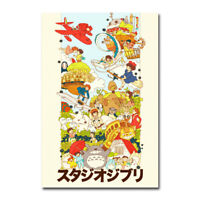 STG074 RGC Huge Poster Studio Ghibli Porco Rosso Poster Anime Glossy Finish