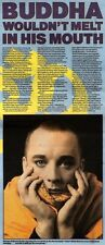 30/3/91 Pgn48 Article & Picture buddha Wouldnt Melt In His Mouth George Odowd