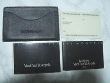 VAN CLEEF & ARPELS LA COLLECTION GUARANTEE WARRANTY CARD, HOLDER - UNUSED  *6753