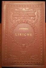 Gabriello Chiabrera, Liriche (Classici Italiani con Note), Ed. UTET