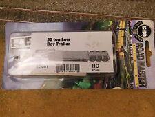 Ho Scale Ghq Road Master Light 50 Ton Lowboy Trailer Kit