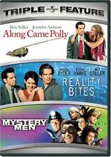Along Came Polly / Reality Bites / Mystery Men (Dvd, 3-Disc Set) New