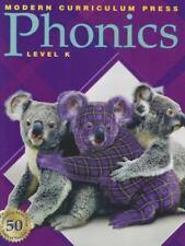 "MCP Modern Curriculum Press Purple ""Plaid"" Phonics Level K- Brand NEW!"