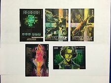 """Metal Gear Solid Trading Cards """"Turtle"""" Silver Foil pick 1 from list MGS"""