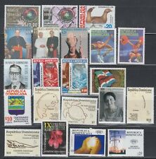 Dominican Republic MNH Complete Year Unit for 2010 Sc 1480-1496