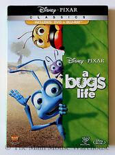 Disney Pixar Movie A Bug's Life A Bugs Life DVD Blu-ray English French Spanish