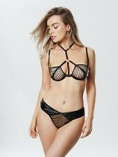Ann Summers Womens Kleo Non Padded Bra Mesh Harness Sexy Lingerie Underwear